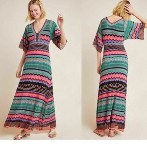new Anthropologie Contrera Knit Maxi Dress